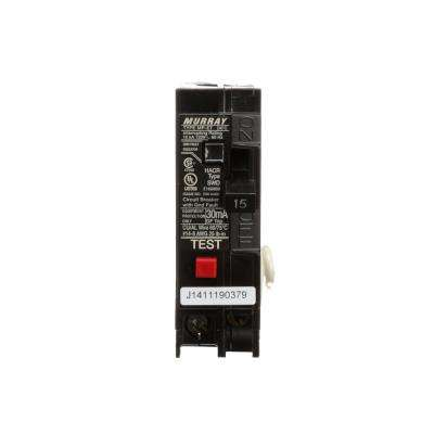 15 Amp Single Pole Type MP-ET Ground Fault Equipment Protection Circuit Breaker