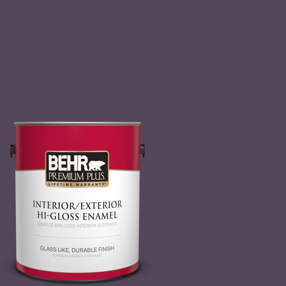 1 gal. #PPU17-01 Mata Hari Hi-Gloss Enamel Interior/Exterior Paint
