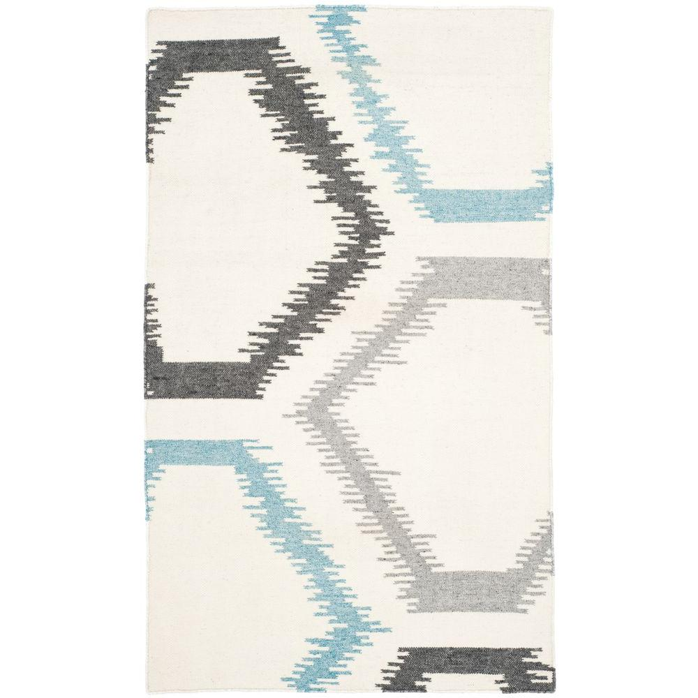 Dhurries Ivory/Multi 3 ft. x 5 ft. Area Rug