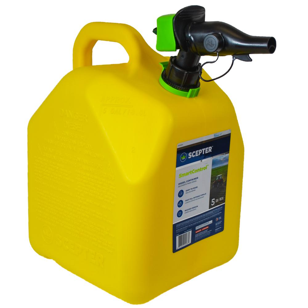 Scepter 5 Gal. Smart Control Diesel Can