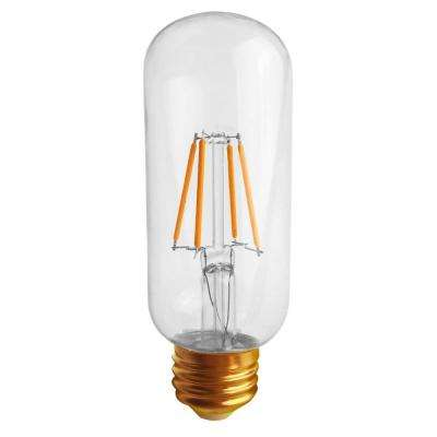 40W Equivalent Soft White E26 Dimmable LED Filament Light Bulb