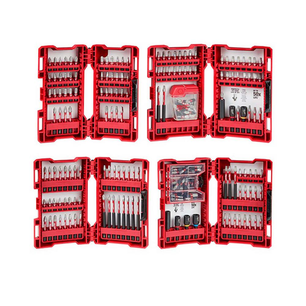 Milwaukee SHOCKWAVE Impact Duty Alloy Steel Drill and Driver Bit Set (205-Piece) was $133.97 now $59.97 (55.0% off)