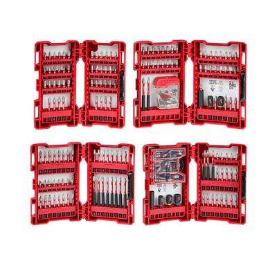 SHOCKWAVE Impact Duty Alloy Steel Drill and Driver Bit Set (205-Piece)