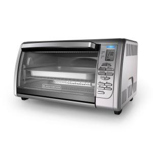BLACK+DECKER 6-Slice Digital Convection Toaster Oven in ...