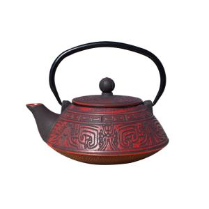 Click here to buy Old Dutch Kodai 3.5-Cup Teapot in Red and Black by Old Dutch.