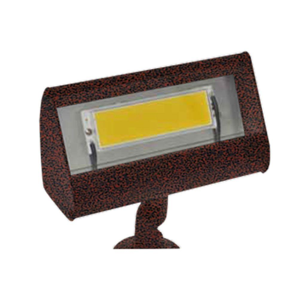 Filament Design Centennial 1-Light Outdoor LED Rust Flood Light