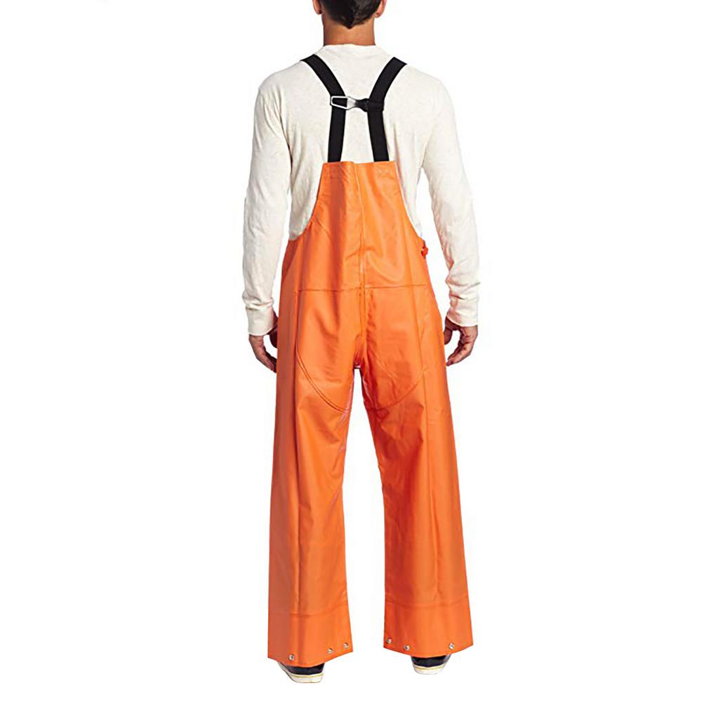 look good shoes sale new specials famous brand Carhartt Men'S Large Tall Orange PVC/Polyester Surrey Bib Overalls
