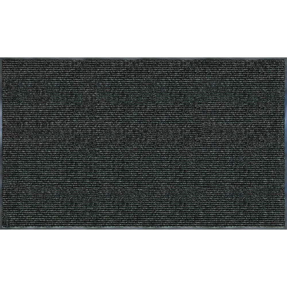 Recycled Rubber/Thermoplastic Rib Door Mat  sc 1 st  Home Depot : mat door - pezcame.com