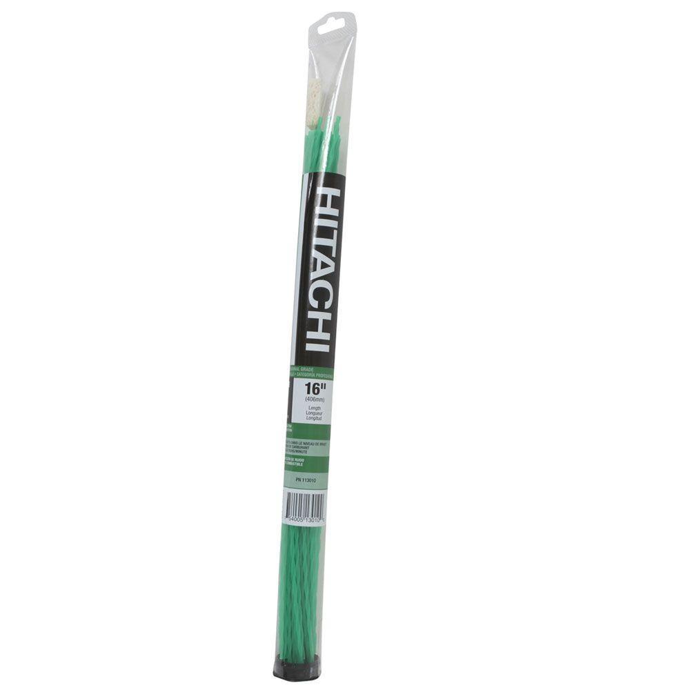 Hitachi 16 in. Tube Quiet Twist Trimmer Line (44-Piece)