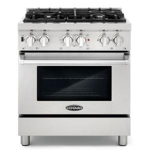 Commercial Style 30 In 3 9 Cu Ft Dual Fuel Range With 4