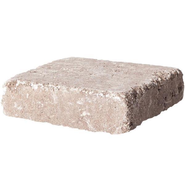 RumbleStone Square 7 in. x 7 in. x 1.75 in. Cafe Concrete Paver (288 Pcs. / 98 Sq. ft. / Pallet)
