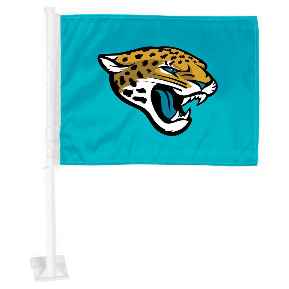 61bbbc0c FANMATS NFL Jacksonville Jaguars Car Flag