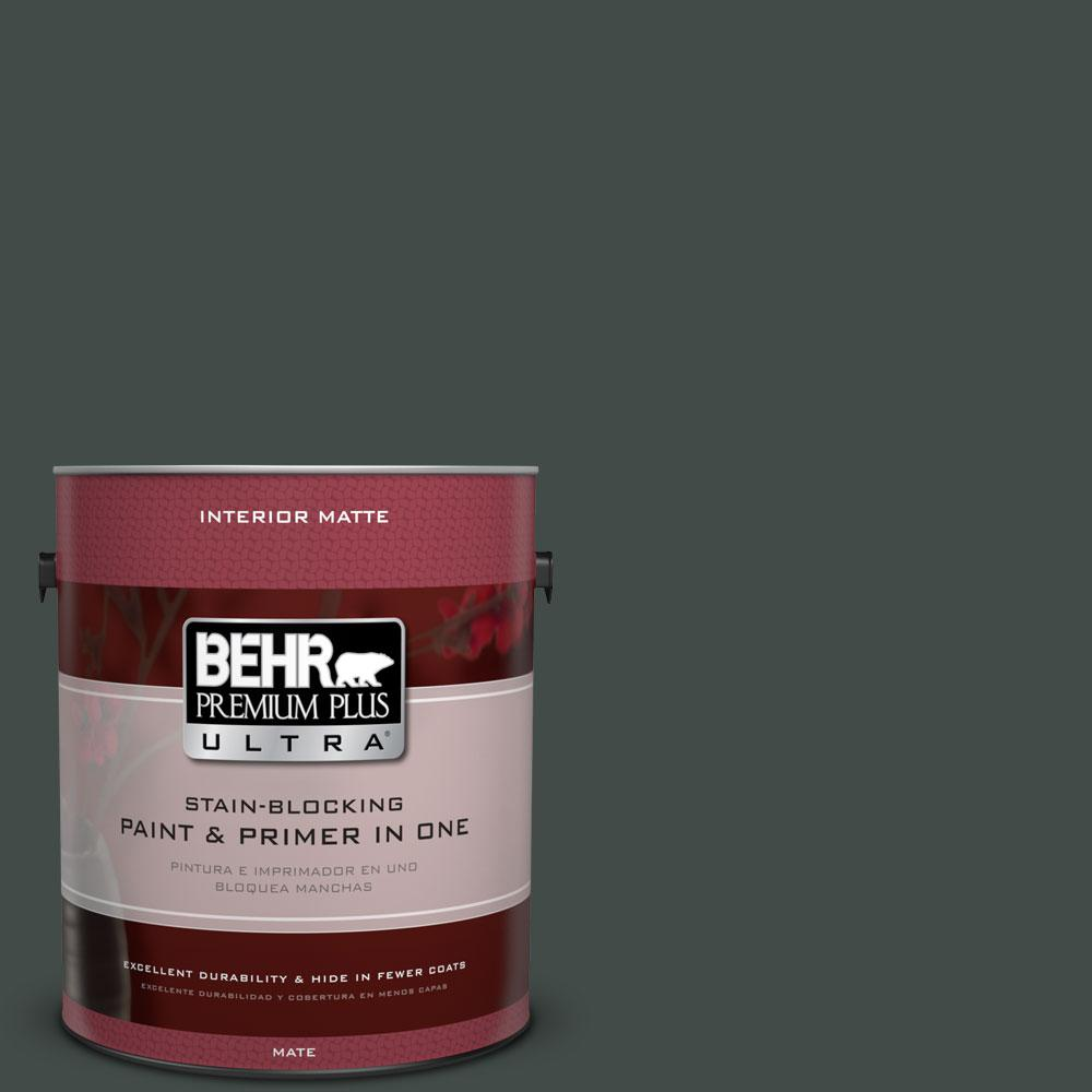 BEHR Premium Plus Ultra Home Decorators Collection 1 gal. #HDC-CL-21 Sporting Green Flat/Matte Interior Paint