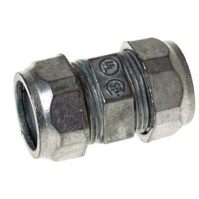 EMT 4 in. Uninsulated Compression Connector (6-Pack)