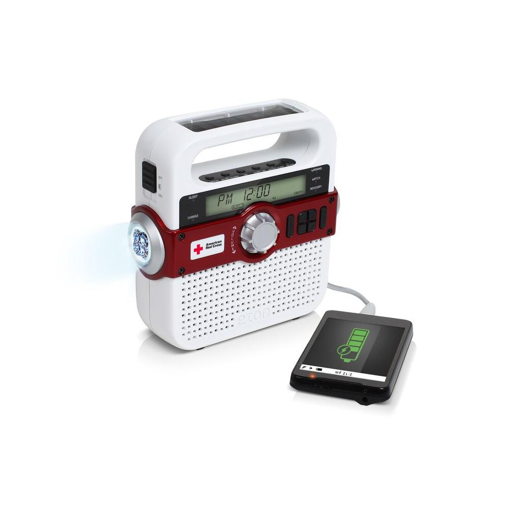 Eton American Red Cross FR370 Emergency Radio with S.A.M.E.