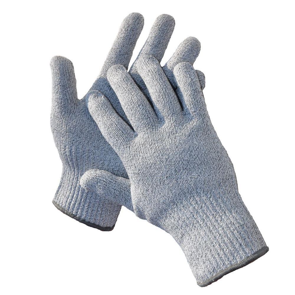 G & F Products CutShield Medium Grey Classic Cut and Slash Resistant Gloves