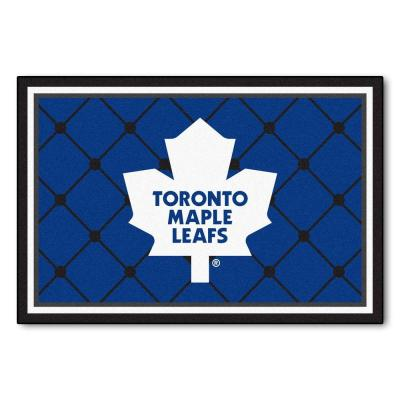NHL Toronto Maple Leafs Blue 5 ft. x 8 ft. Indoor Area Rug