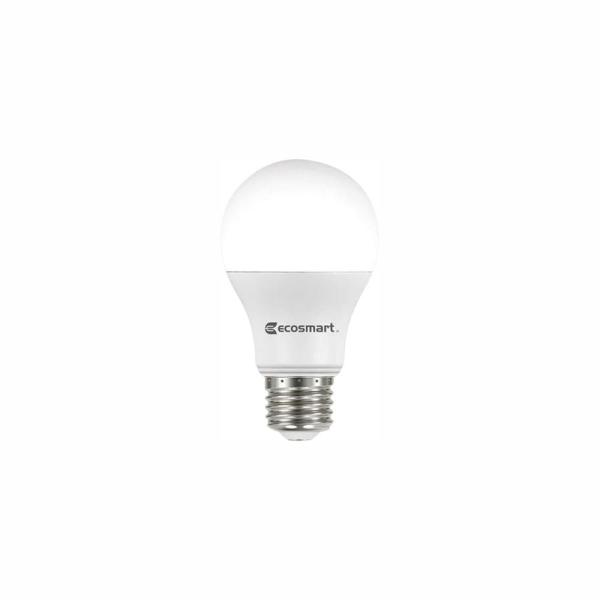 Ecosmart 60 Watt Equivalent A19 Non Dimmable Led Light Bulb Soft White 32 Pack B7a19a60wul18 The Home Depot