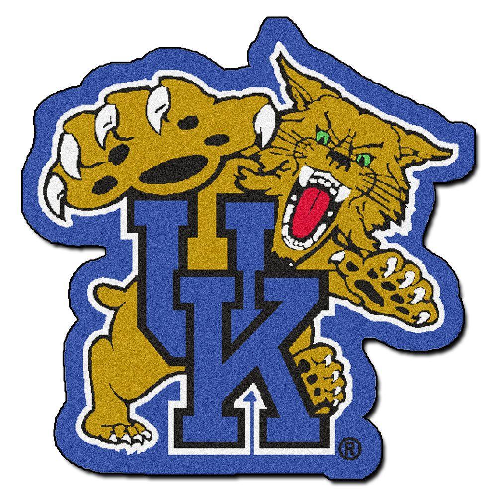 Fanmats Ncaa University Of Kentucky Blue 3 Ft X 4 Ft