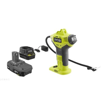 18-Volt ONE+ Lithium-Ion Cordless Power Inflator Kit with 1.5 Ah Battery and 18-Volt Charger