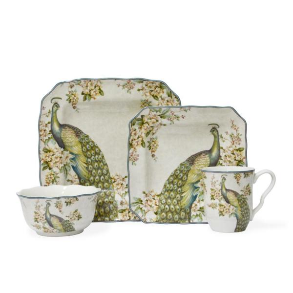 Empress Garden 16-Piece Dinnerware Set