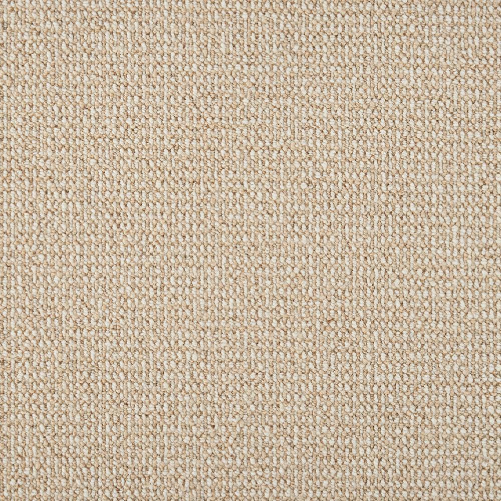 Sand Harbor - Color Flax/Ivory Texture 12 ft. Carpet