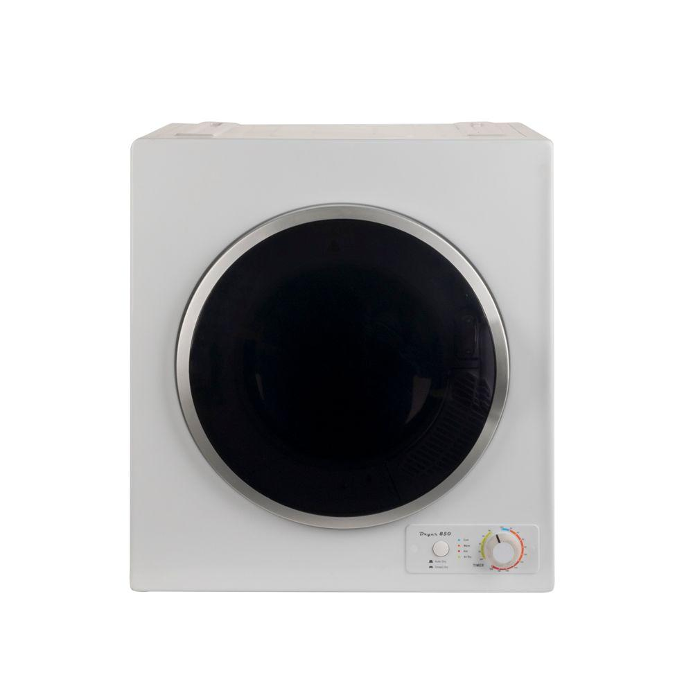 3 cu. ft Compact Electric Dryer with High Speed Turbo Fan