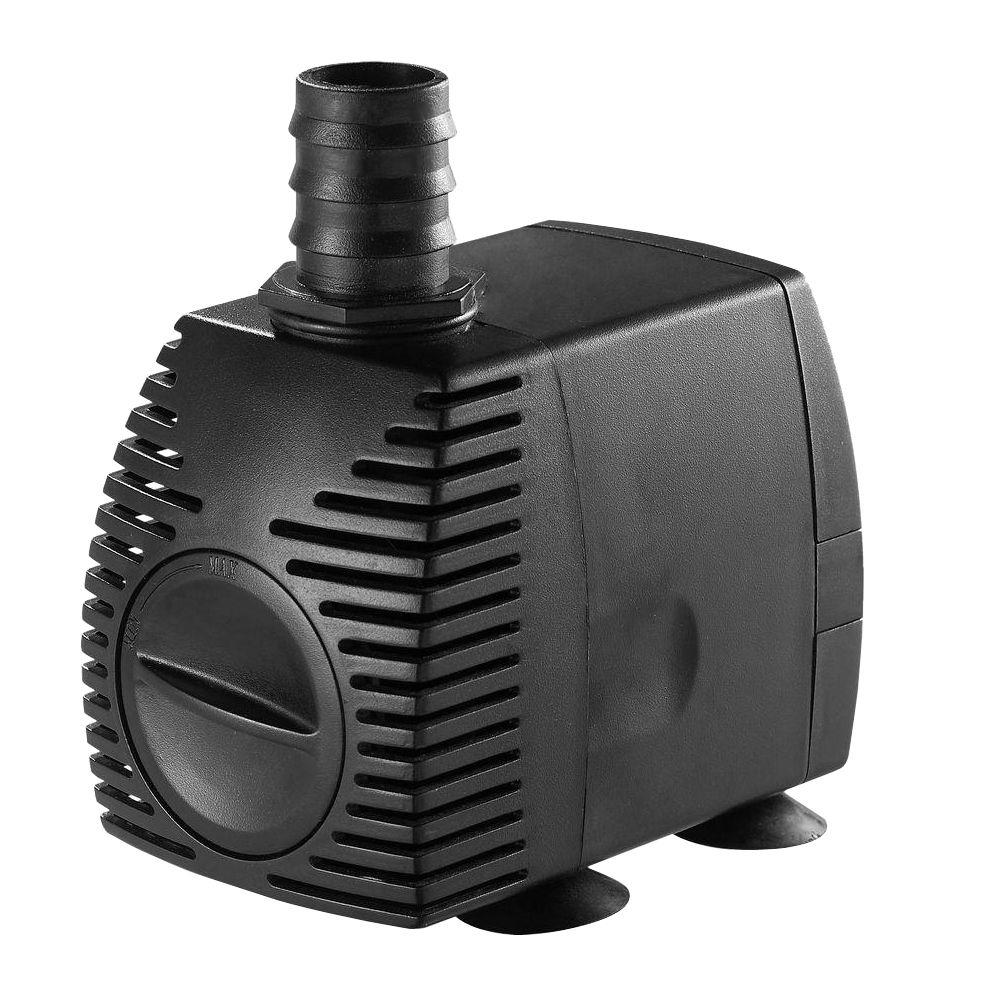 Algreen 200 GPH Statuary Fountain Pump For Water Features