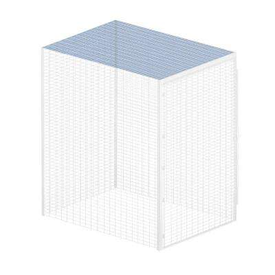 Storage Locker Option 48 in. W x 48 in. D x 0.5 in. H Top for Bulk Storage Locker in Aluminum