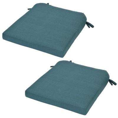 Spring Haven Charleston Replacement Outdoor Dining Chair Cushion (2-Pack)