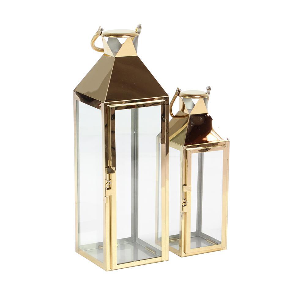 Charming +4. Gold Candle Lanterns ... Design Inspirations