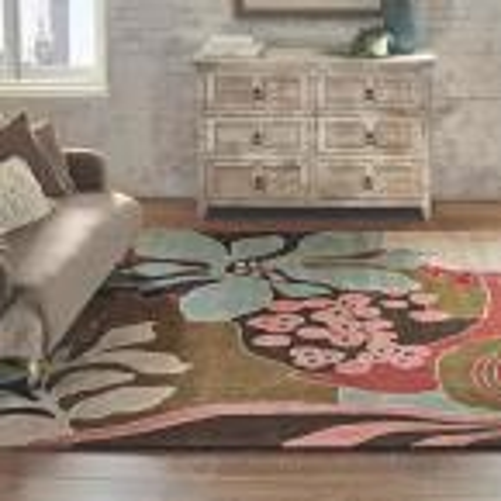 Home Decorators Collection Print Block 6-Drawer Whitewash Dresser