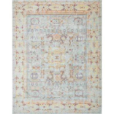 Austin Light Blue 10' x 13' Rug