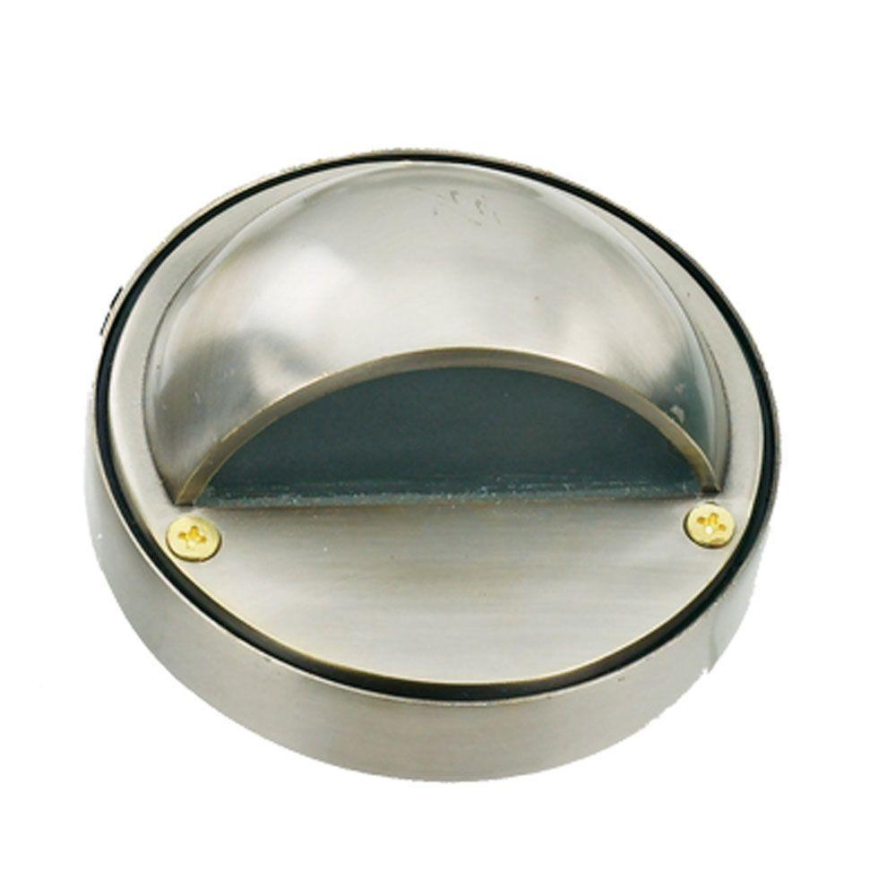 1-Light Stainless Steel Die Cast Brass Step Light