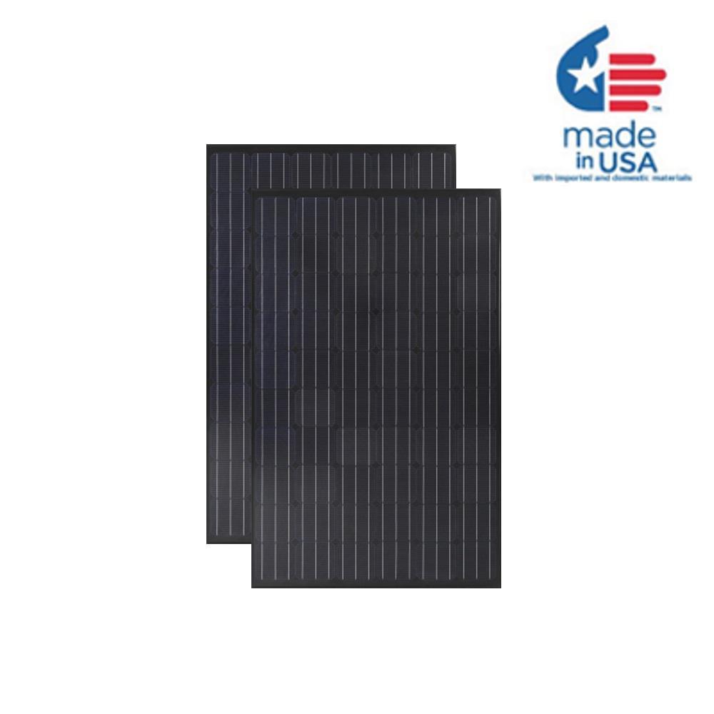 Grape Solar 300-Watt Monocrystalline Solar Panel (2-Pack)