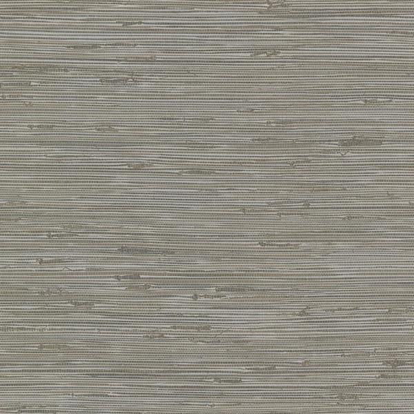 Brewster 56.4 sq. ft. Fiber Grey Weave Texture Wallpaper 2767-24416