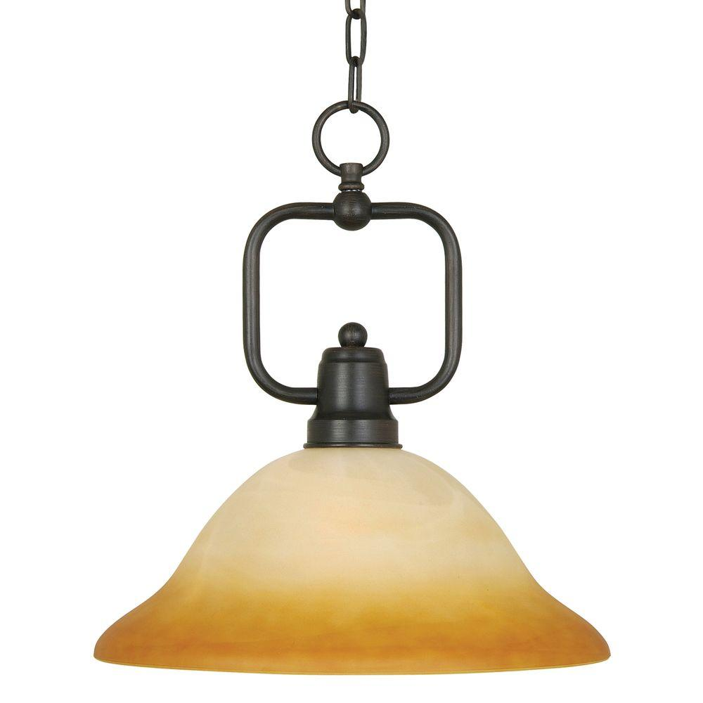 Yosemite Home Decor Bridalveil Lighting Collection 1-Light Hanging Pendant-DISCONTINUED