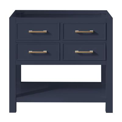 Brooks 36 in. W x 21.5 in. D Bath Vanity Cabinet Only in Navy Blue