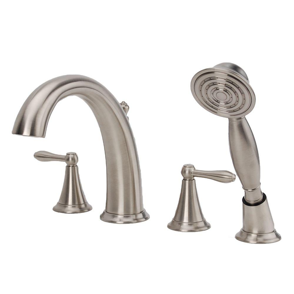 Fontaine Montbeliard 2-Handle Deck Mount Roman Tub Faucet with ...