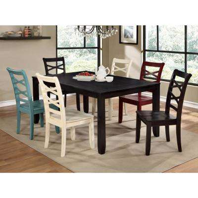 Giselle Espresso Transitional Style Dining Table