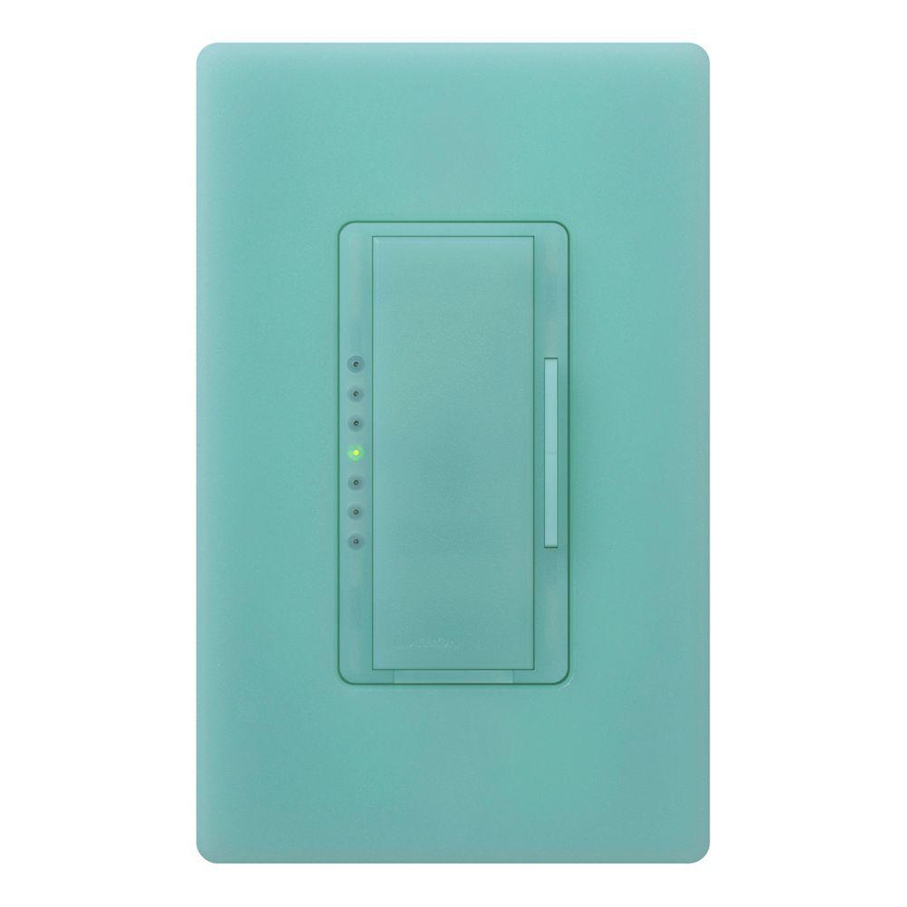 Maestro 600-Watt Multi-Location Digital Dimmer - Sea Glass