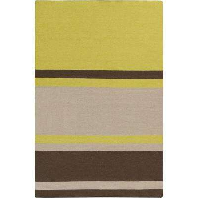 Frontier Lime 5 ft. x 8 ft. Indoor Area Rug