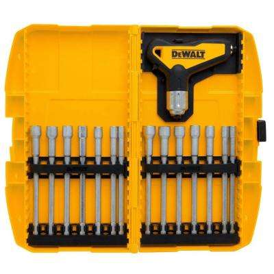 Ratcheting T-Handle Nut Driver Set