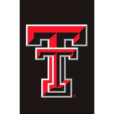 NCAA 12-1/2 in. x 18 in. Texas Tech 2-Sided Garden Flag