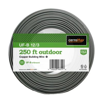 250 ft. 12/3 UF-B Wire