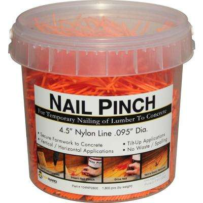 4.5 in. x 0.095 Dia Nylon String for Concrete Forming