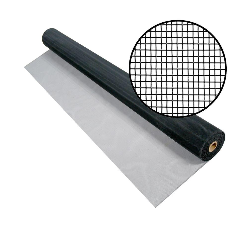 Phifer 48 in. x 100 ft. Charcoal Aluminum Screen (Tube)