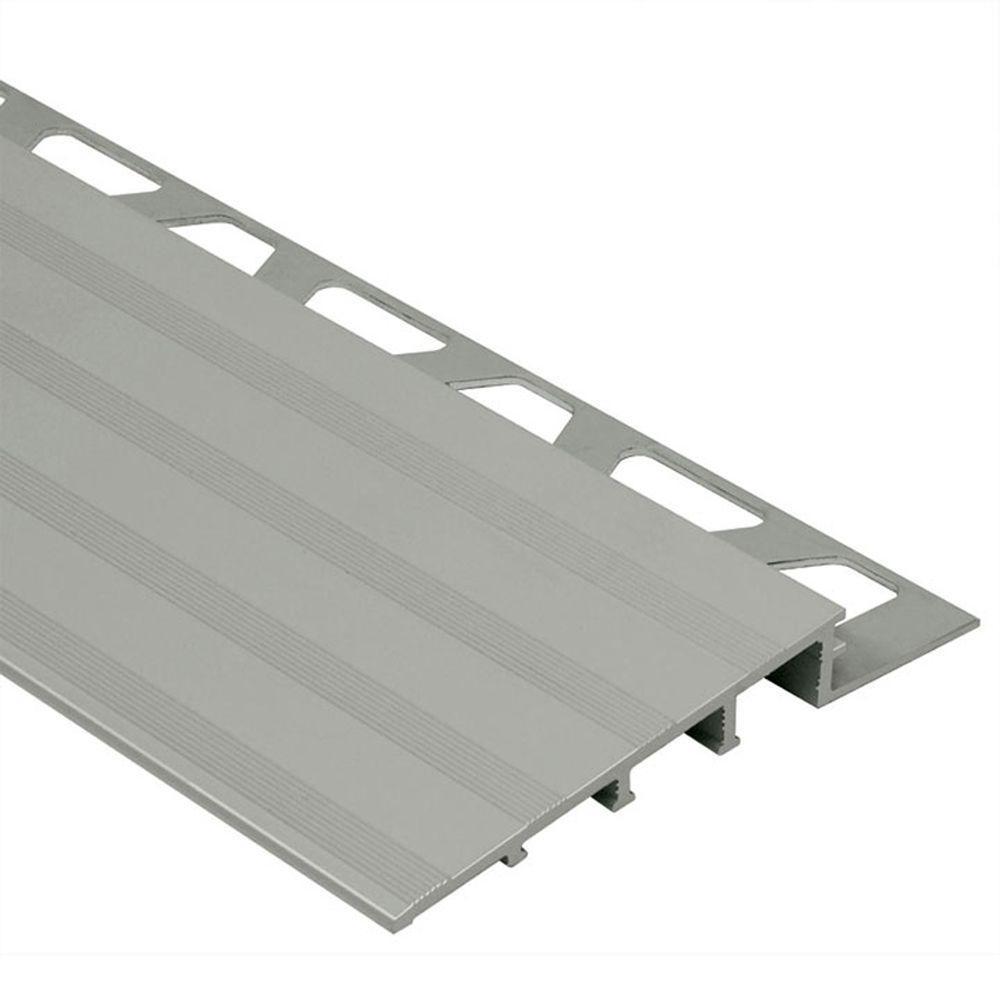Schluter Reno-Ramp Satin Anodized Aluminum 1/4 In. X 8 Ft