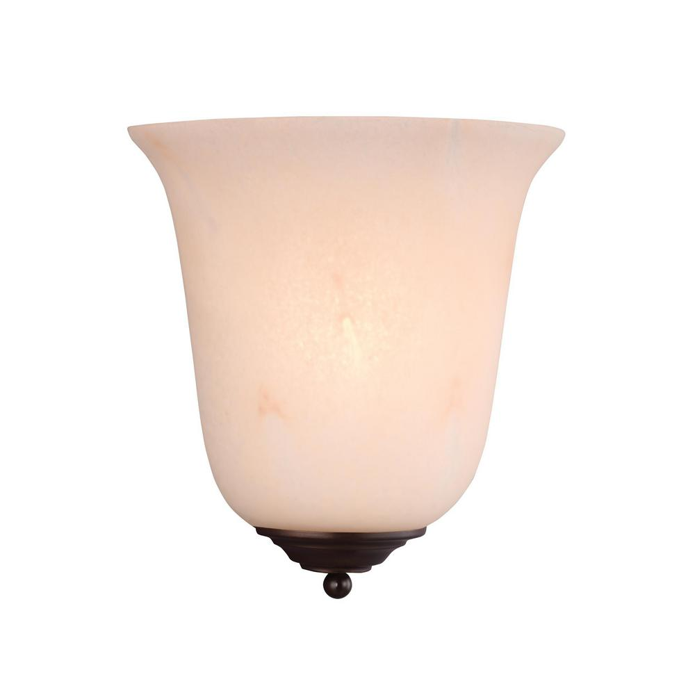 Lovely Sea Gull Lighting Decorative Wall Sconce 1 Light LED Antique Bronze Wall  Sconce