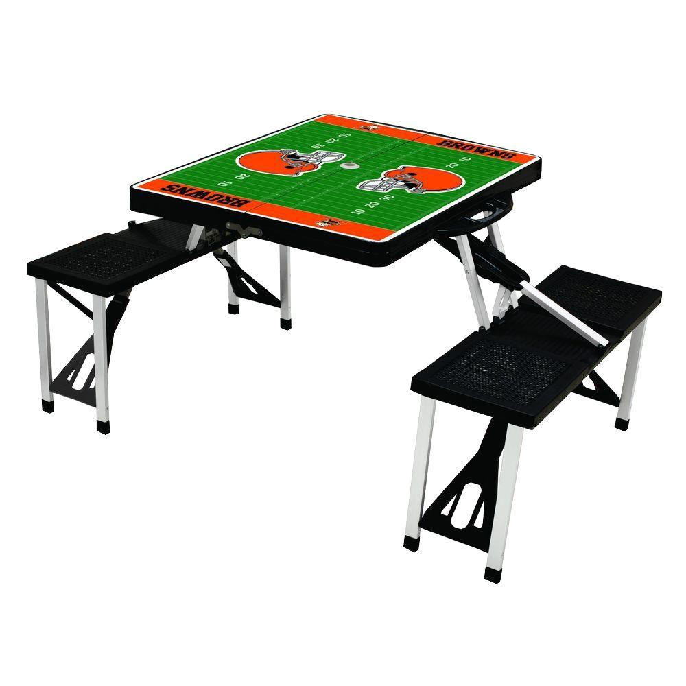 Cleveland Browns Sport Plastic Outdoor Patio Picnic Table